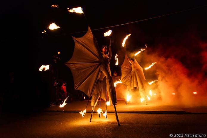 Danza del fuoco - Corona Events