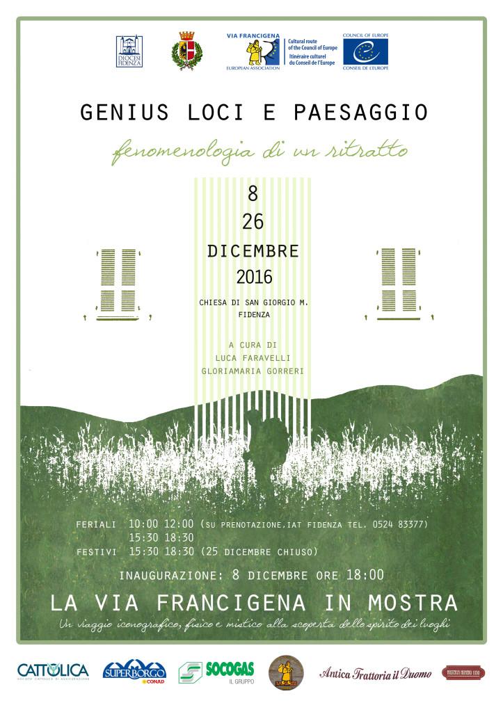 Genius loci - mostra sulla Via Francigena