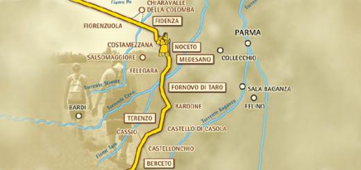 Via Francigena a Fidenza