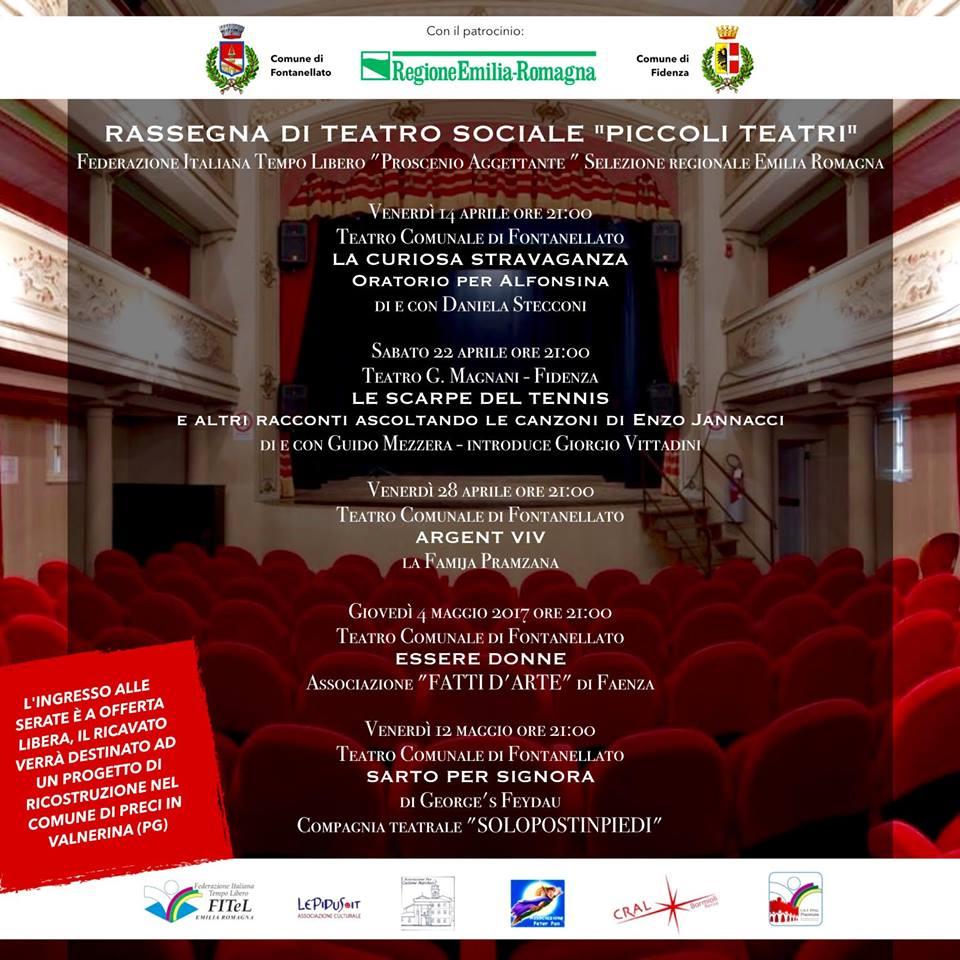Piccoli Teatri 2017