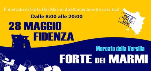 Mercato Forte dei Marmi 28 maggio Fidenza