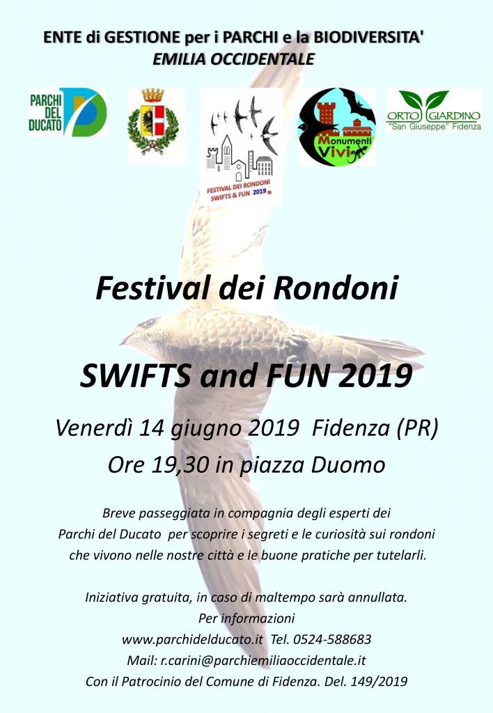 Festival dei Rondoni SWIFTS and FUN 2019