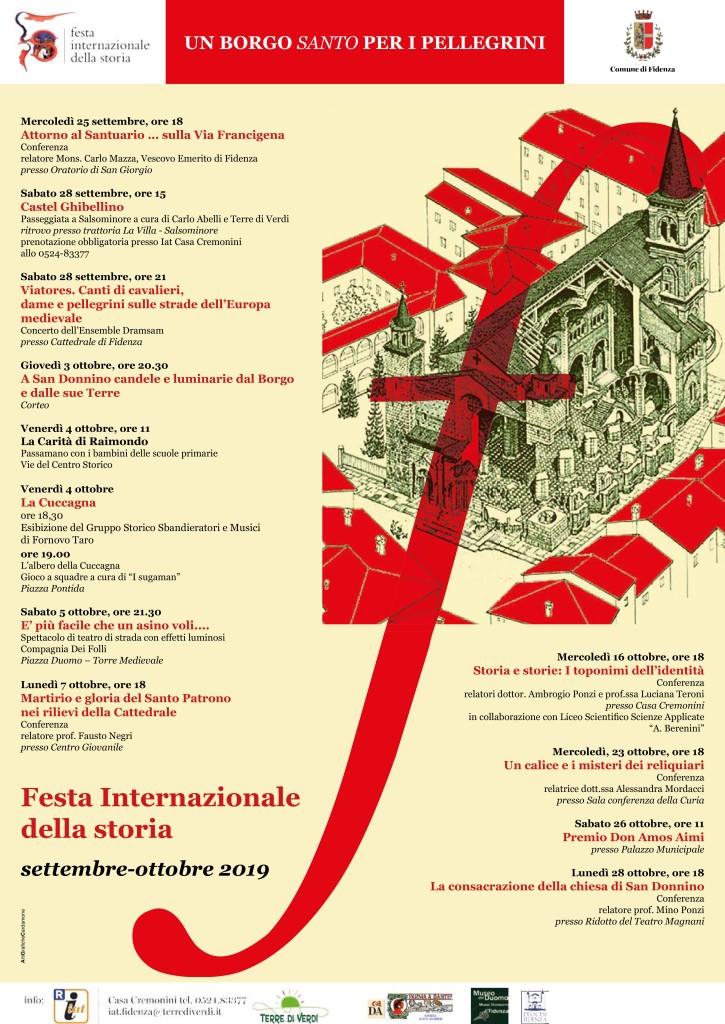 Locandina Festa della Storia 2019